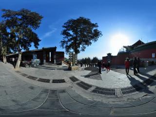 幽静怡然北京八大处 灵光寺全景