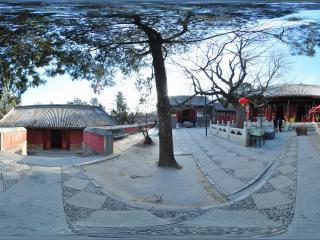 幽静怡然北京八大处 大雄宝殿全景