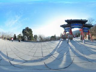 幽静怡然北京八大处 宝珠洞全景