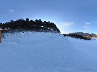 北京学世界滑雪场内景