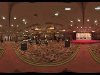 港澳中心瑞士酒店宴会大厅内景