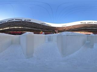 足不出户体验冰雪世界 鸟巢冰雪节 NO.5