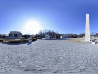 世界全景一次看 北京世界公园华盛顿纪念碑及林肯纪念堂