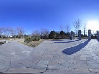 世界全景一次看 北京世界公园墨西哥图腾柱