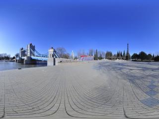 世界全景一次看 北京世界公园伦敦塔桥