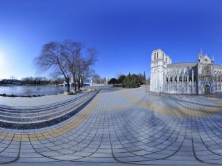 世界全景一次看 北京世界公园巴黎圣母院