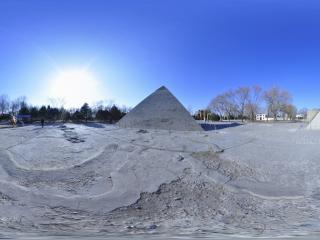 世界全景一次看 世界公园 吉萨金字塔