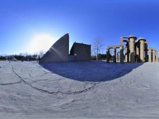 世界全景一次看 北京世界公园 卡纳克神庙