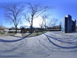 世界全景一次看 北京世界公园 巴比伦门