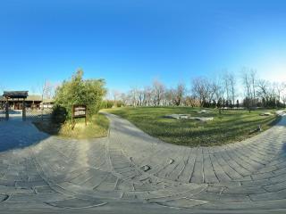 颐和园 水村居