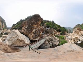 葫芦岛龙潭大峡谷'崩塌堆积(莲花峰)