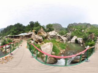 龙潭大峡谷'景区小桥