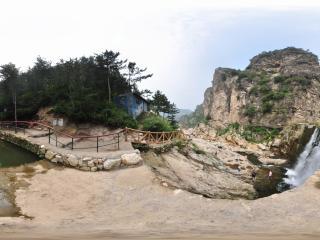 葫芦岛龙潭大峡谷'水坝