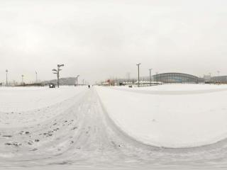 雪中鸟巢景观 NO.12全景
