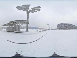 雪中鸟巢景观 NO.10全景