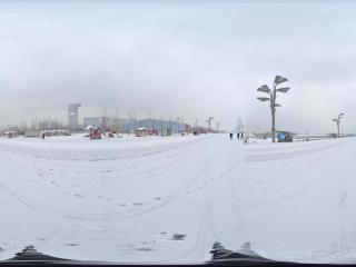 雪中鸟巢景观 NO.9全景