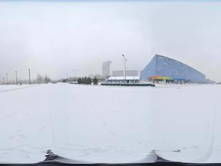雪中鸟巢景观 NO.5