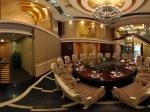 上海金海华酒店 大包房全景