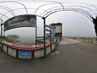 金海湖 水坝