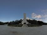 西藏和平解放纪念碑全景