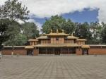 罗布林卡的藏剧戏台全景