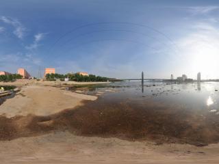 葫芦岛水上公园夏景之水中漫步