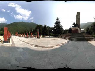 泸定桥纪念馆广场