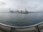 香港星光大道维多利亚港湾一角全景