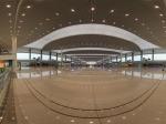 成都东站内大厅全景