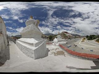 西藏拉萨布达拉宫-外景