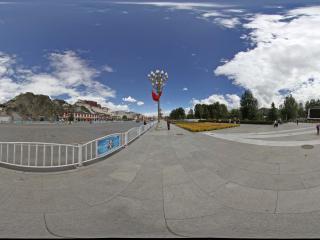 布达拉宫外景 NO.11全景