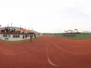 四川大学锦城学院2011级新生军训汇报检阅