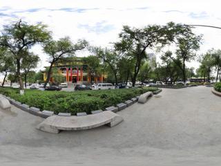 美丽的哈尔滨第三中学全景