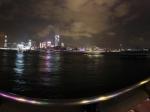 香港的维多利亚美丽夜景