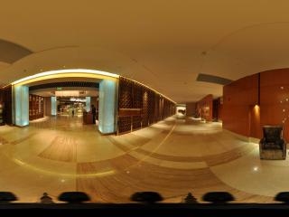 惠州凯宾斯基酒店一楼过道
