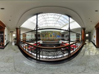 黑龙江省博物馆二楼大厅