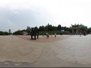 峨眉山入口广场
