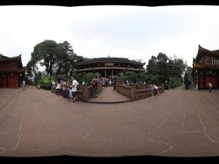峨眉山万年寺后面