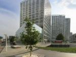 北京后现代城公寓区全景