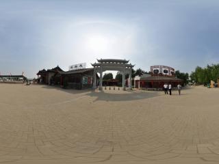 葫芦岛葫芦山庄夏景之汇演中心