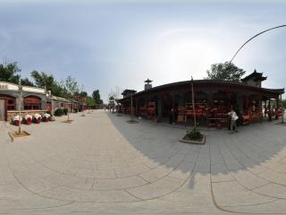 葫芦岛葫芦山庄夏景之葫芦卖店