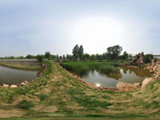 葫芦岛葫芦山庄之池塘夏景