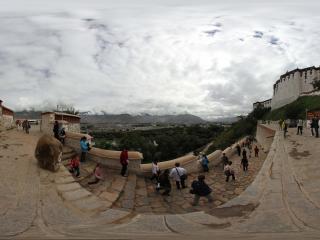 布达拉宫外景 NO.1全景