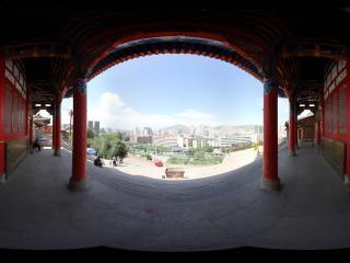 西宁法幢寺外景全景
