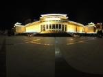 青海省博物馆夜景全景