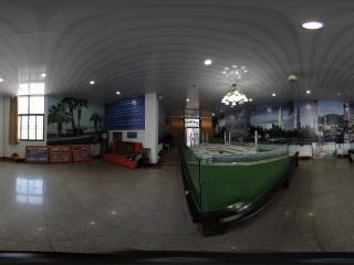 青海西宁东关大清真寺展厅麦加模型