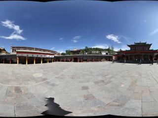 西宁塔尔寺-九间殿院