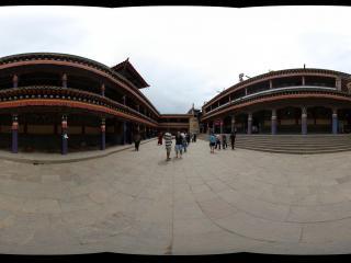 西宁塔尔寺大经堂