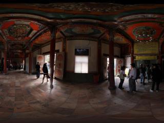 西宁塔尔寺入口殿堂