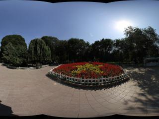 乌鲁木齐红山公园内广场